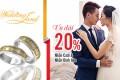 Trang sức DOJI ưu đãi 20% tại Marry Wedding Day Hà Nội