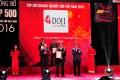 Tập đoàn DOJI nhận chứng nhận TOP 500 DNTN lớn nhất VN năm 2016