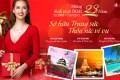 Trang sức DOJI ưu đãi 23% & tặng cơ hội du lịch châu Á