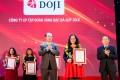 DOJI vinh dự lọt TOP 10 nhà bán lẻ uy tín hàng đầu Việt Nam