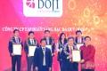 Tập đoàn DOJI nhận chứng nhận TOP 5 DNTN lớn nhất Việt Nam lần thứ 8