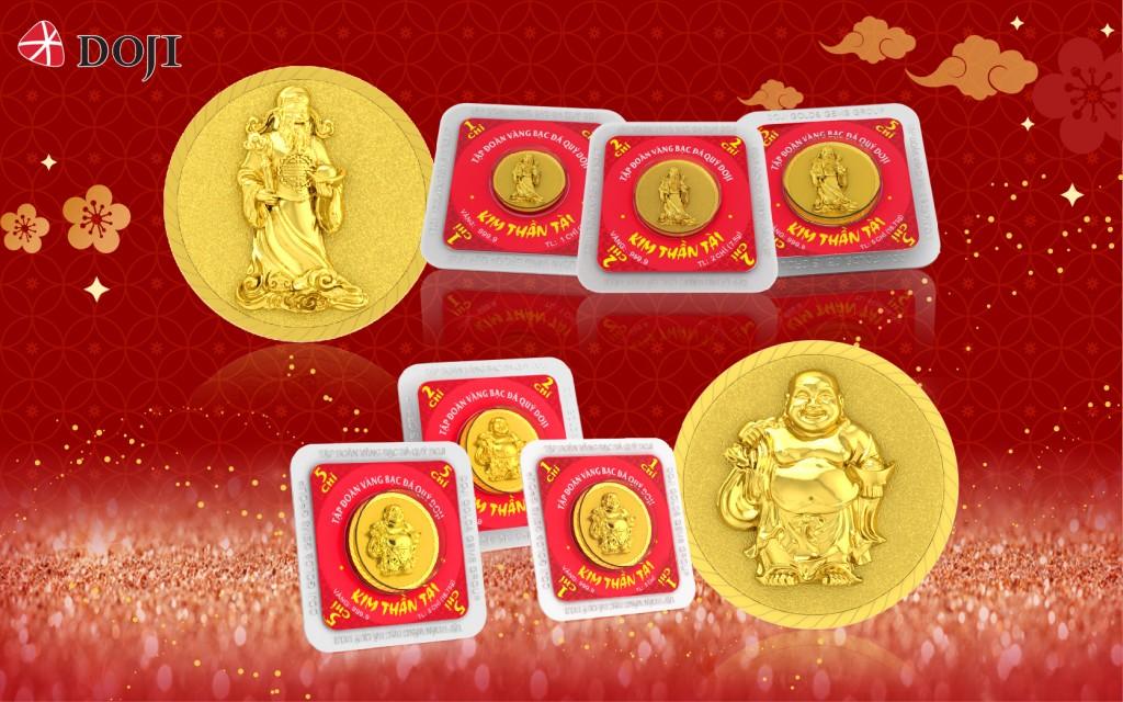 2 đồng Kim Thần Tài