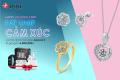 """Bộ sưu tập """"Melody of Love"""" của DOJI - Món quà Valentine phải lòng mọi cô gái"""