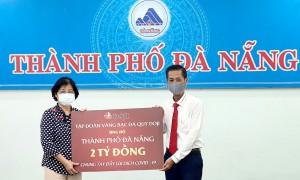 Tập đoàn DOJI tiếp sức Đà Nẵng: Tặng 2 tỷ đồng chống dịch Covid-19