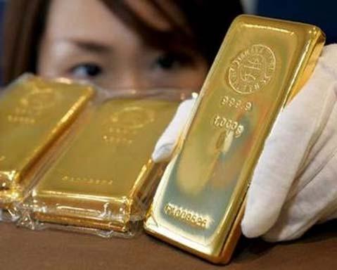 Giá vàng tuần vừa qua biến động khoảng 25USD/oz